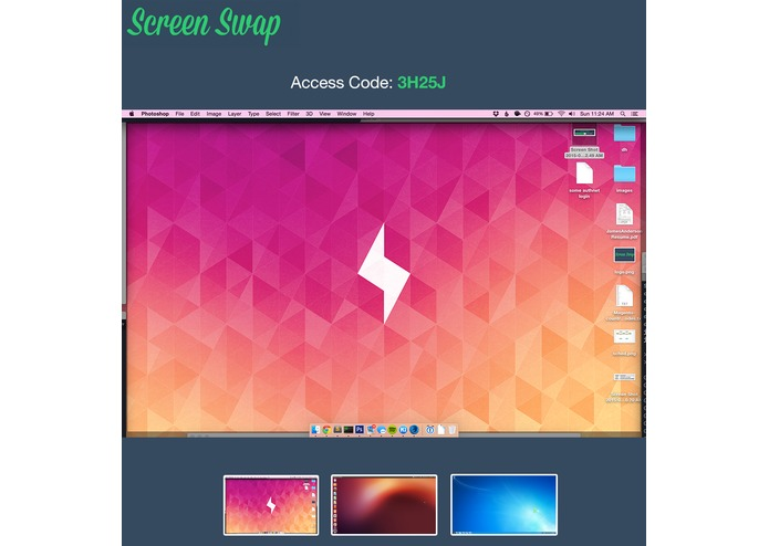 ScreenSwap – screenshot 2
