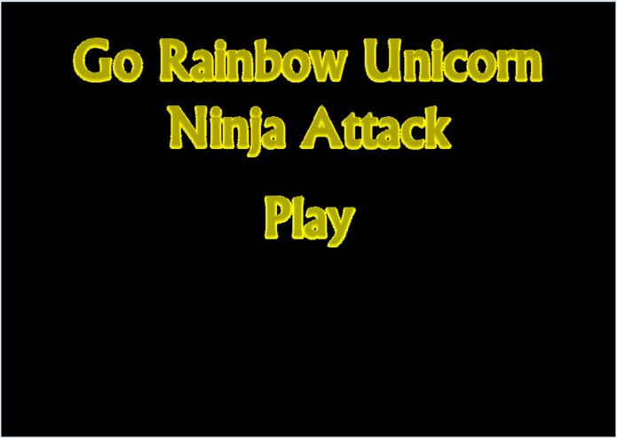 Go Rainbow Unicorn Ninja Attack – screenshot 16