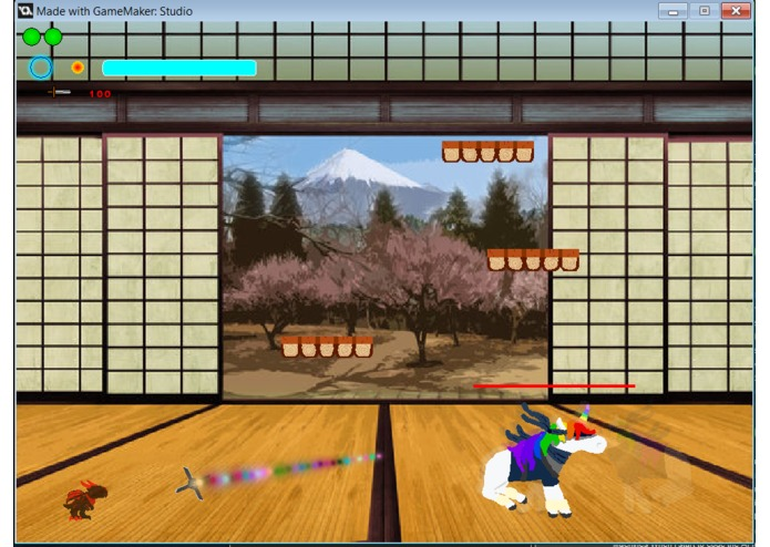 Go Rainbow Unicorn Ninja Attack – screenshot 7
