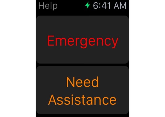 Help - Emergency Notifier – screenshot 1