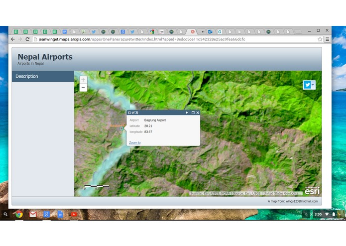 Nepal Airports ESRI Map aap – screenshot 1