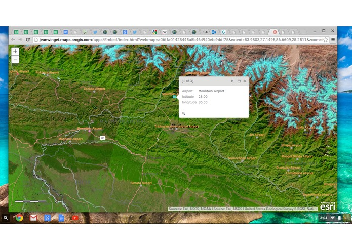 Nepal Airports ESRI Map aap – screenshot 2