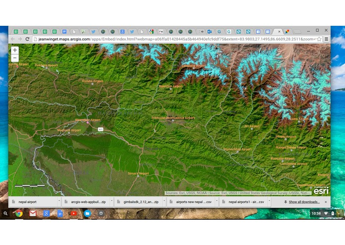 Nepal Airports ESRI Map aap – screenshot 3