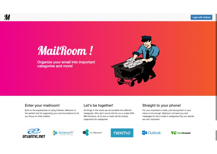 Mailroom – screenshot 2
