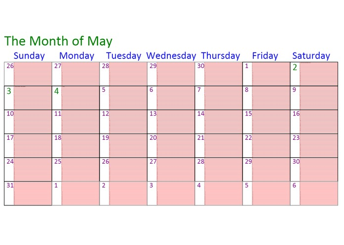 ZoomCalendar – screenshot 1