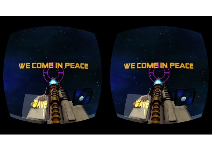 WE COME IN PEACE... – screenshot 1