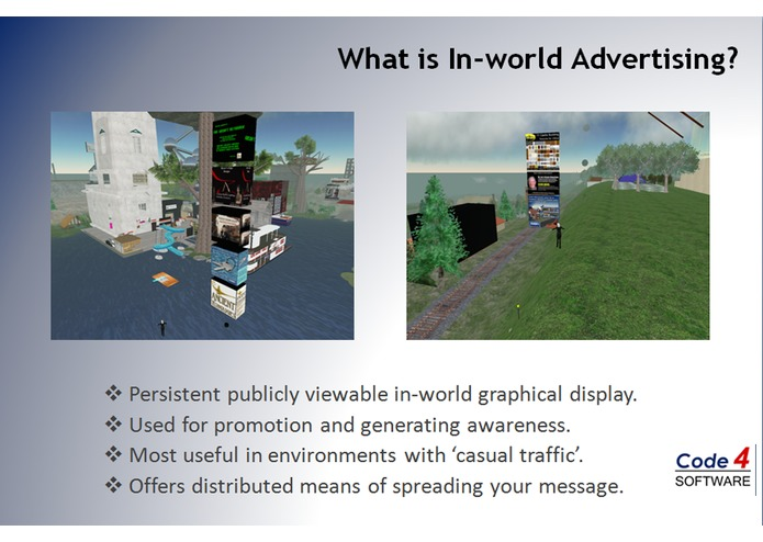 AdSoft Virtual Reality Advertising System – screenshot 1
