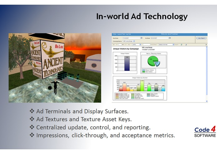 AdSoft Virtual Reality Advertising System – screenshot 3