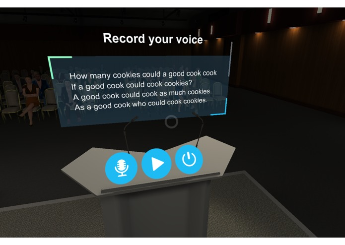 Speech Center – screenshot 3