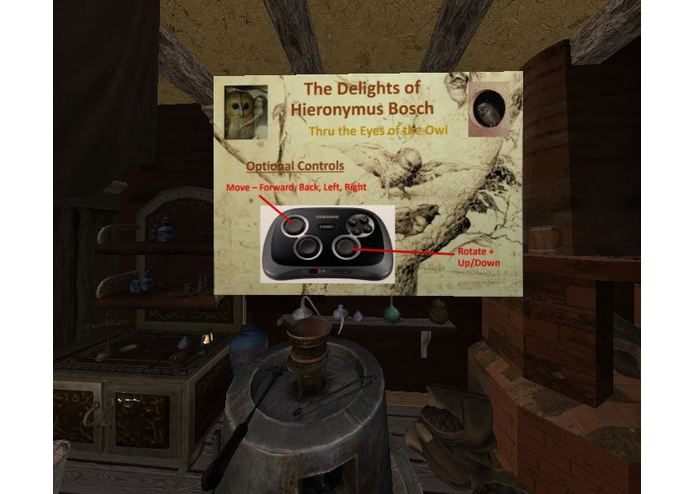 The Delights of Hieronymus Bosch VR Exploration – screenshot 2