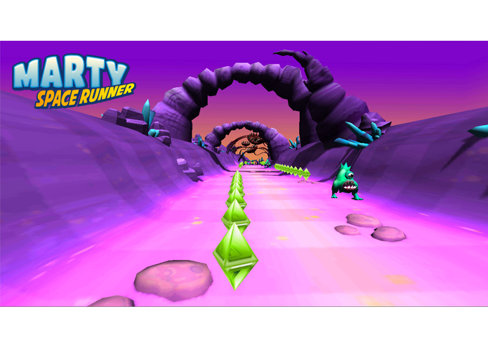Marty Space Runner – screenshot 2