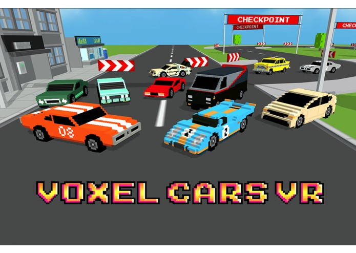 Voxel Cars Vr – screenshot 1