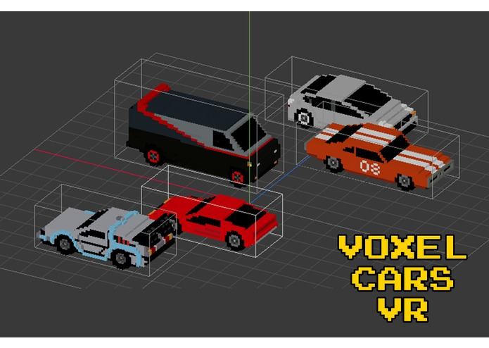 Voxel Cars Vr – screenshot 4