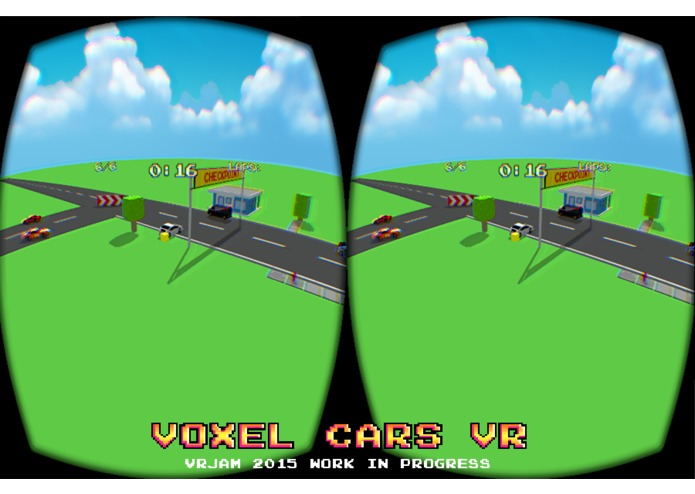 Voxel Cars Vr – screenshot 5