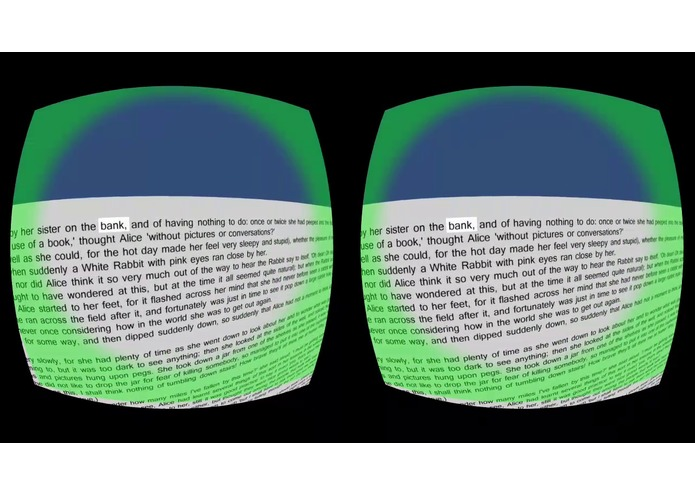 VR Speed Reader – screenshot 2