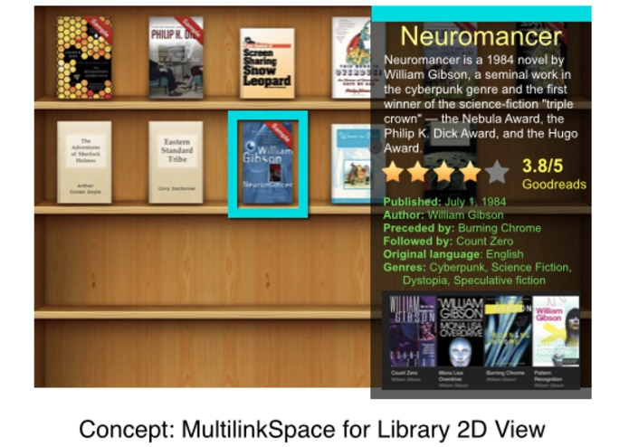 Multilink Space Library – screenshot 2