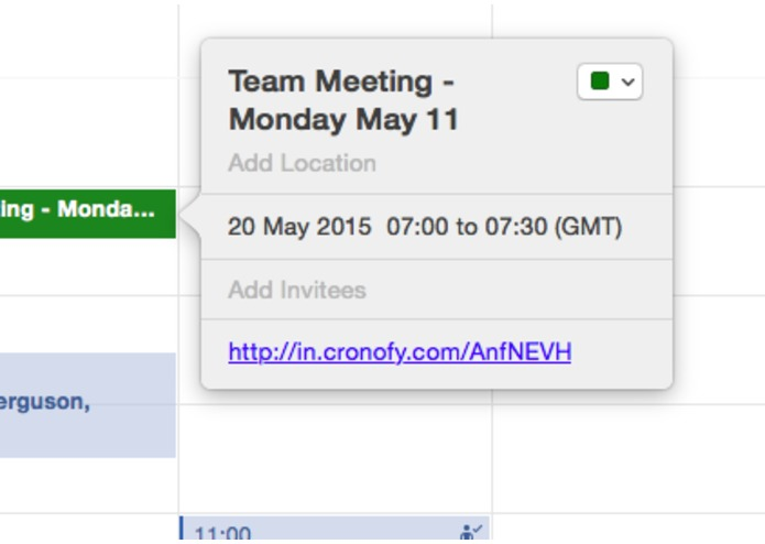 Evernote Calendar Connector – screenshot 3