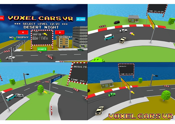 Voxel Cars Vr – screenshot 2