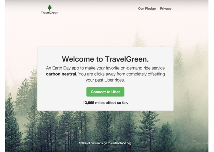 TravelGreen – screenshot 1