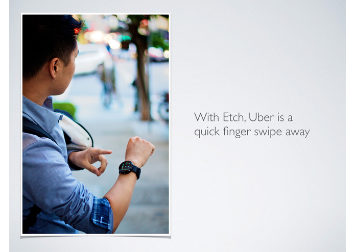Etch for Uber – screenshot 2