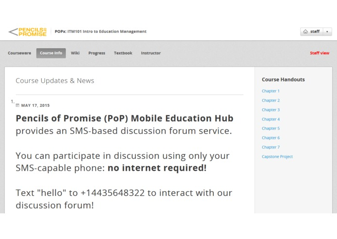 Pencils of Promise Mobile Education Hub – screenshot 2