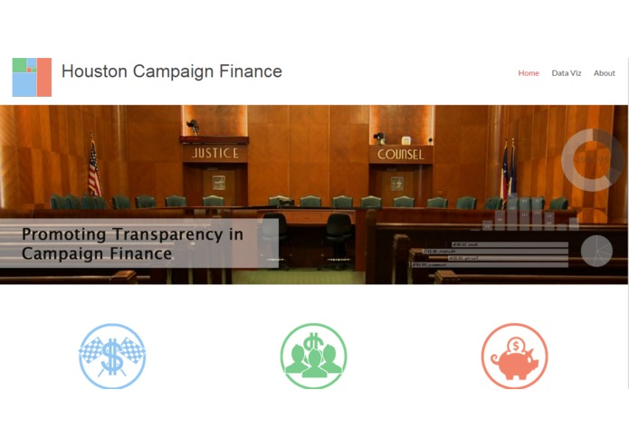 City of Houston Campaign Finance – screenshot 5