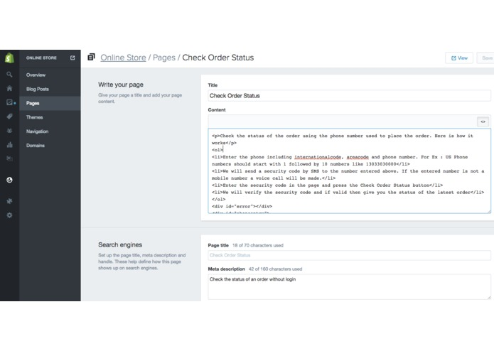 Shopify Status Check with 2fa – screenshot 3