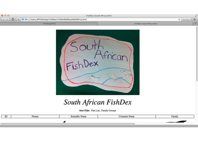 FishDex: South Africa – screenshot 1