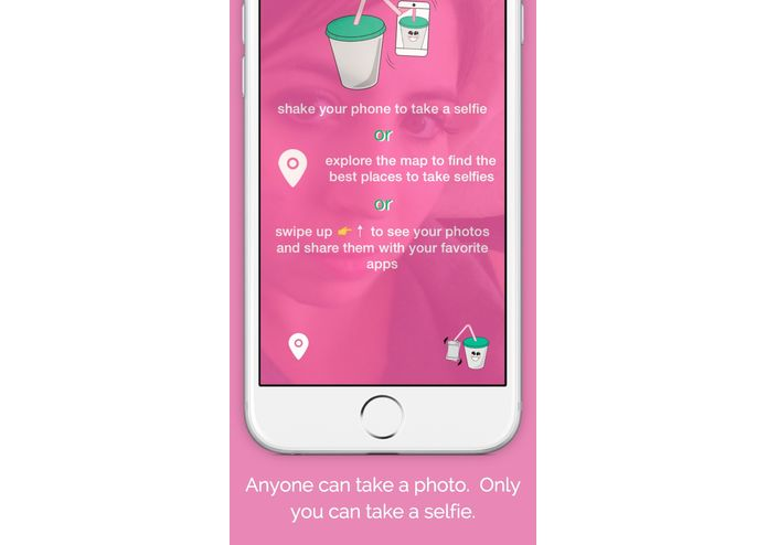 SelfieShake - The Ultimate Selfie & Travel Camera – screenshot 1