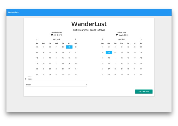 WanderLust – screenshot 3