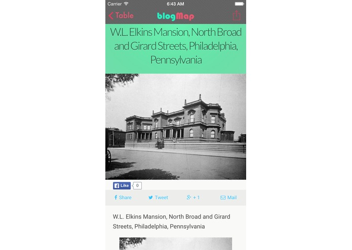 blogMap | Philadelphia – screenshot 6