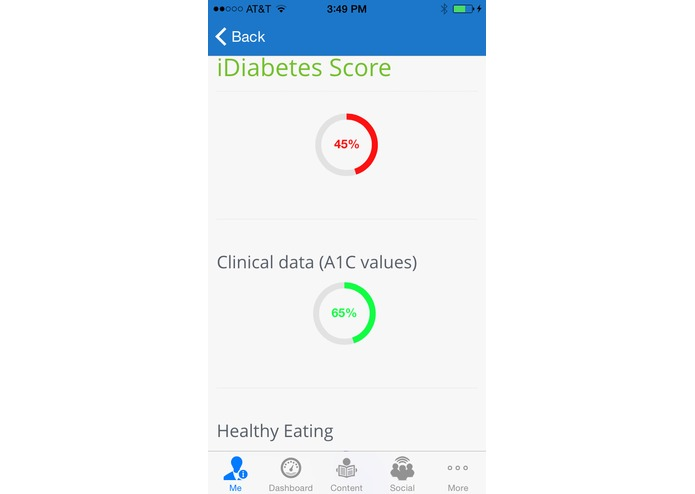 iDiabetes – screenshot 2
