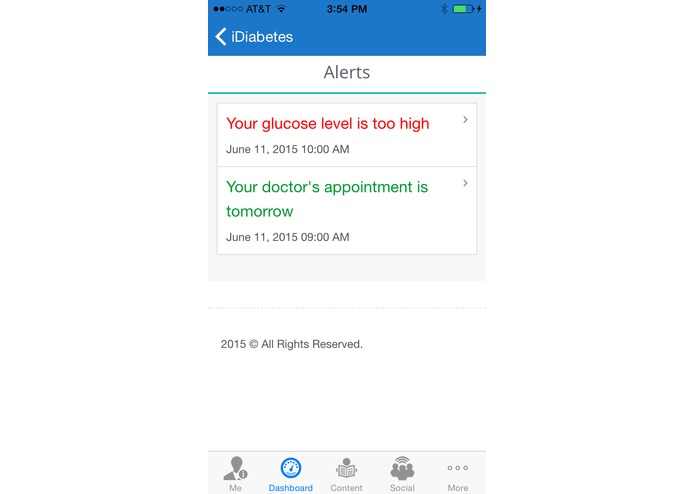 iDiabetes – screenshot 5