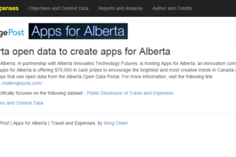 Alberta Public Disclosure of Travel and Expenses examine expenses and receipts