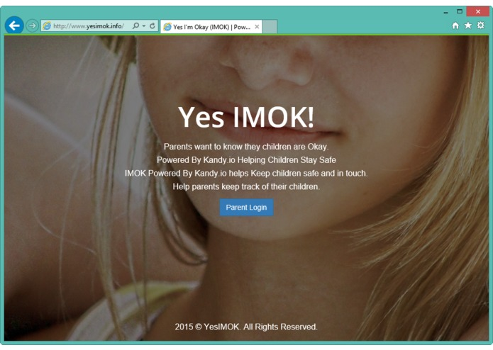 IMOK Powered By Kandy.io - Keeping Children Safe – screenshot 1