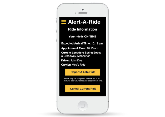Alert-A-Ride – screenshot 4
