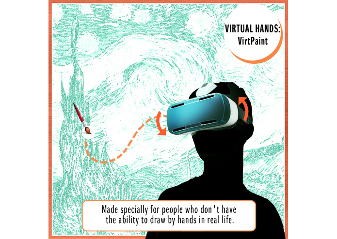 VIRTUAL HANDS: VirtPaint – screenshot 3