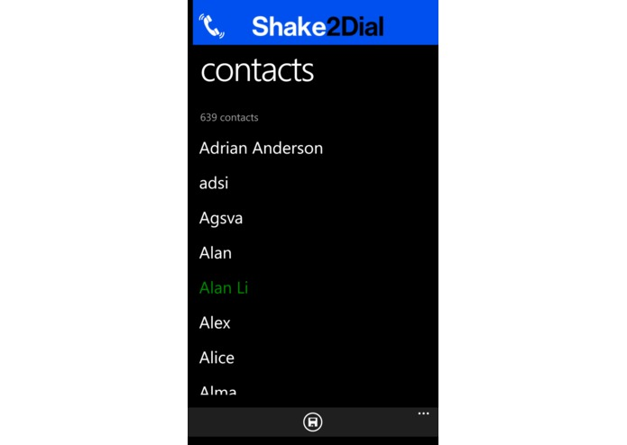 Shake to Dial Pro – screenshot 2