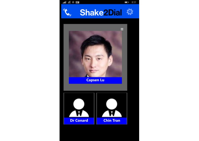 Shake to Dial Pro – screenshot 3