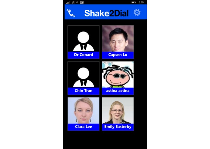 Shake to Dial Pro – screenshot 4