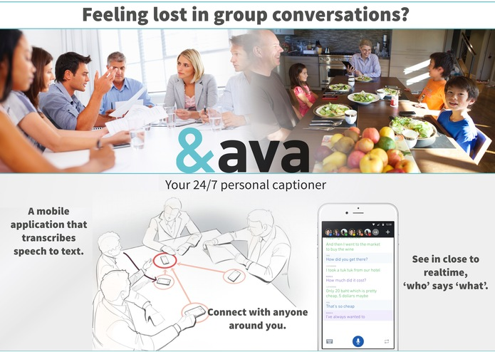 ava - true autonomy to the deaf and hard of hearing – screenshot 1