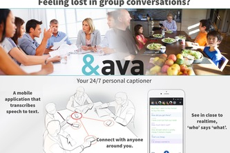 ava - true autonomy to the deaf and hard of hearing
