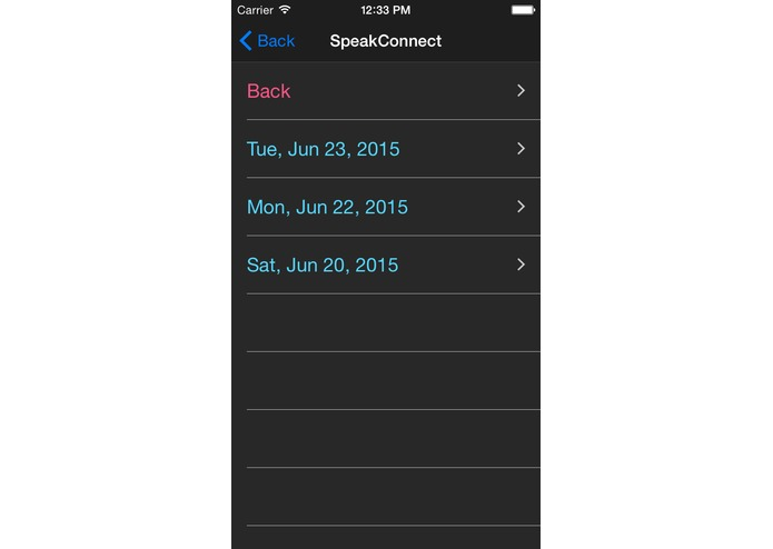 SpeakConnect – screenshot 2