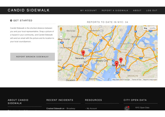 Candid Sidewalk – screenshot 1