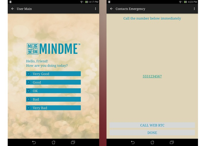 MindMe by TelePsych Alliance – screenshot 1