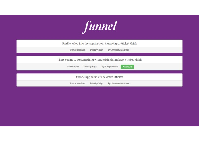 Funnel – screenshot 3