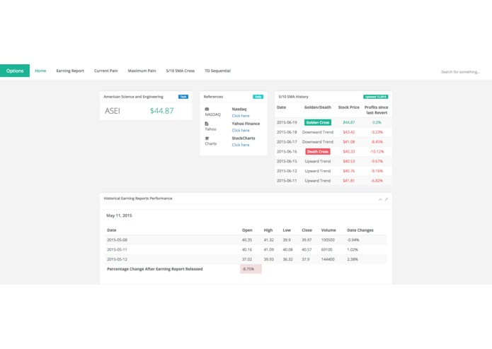Earnings Report – screenshot 2