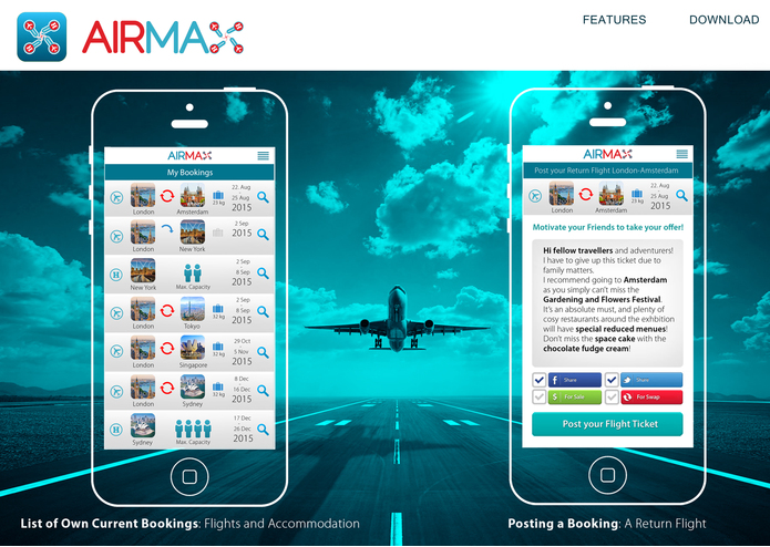 AIRMAX - Air Travel Reinvented! – screenshot 2