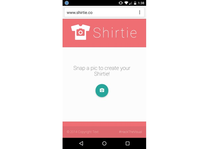 Shirtie.co – screenshot 1