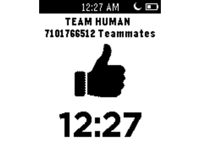 Team Human - Watchface(s) – screenshot 1